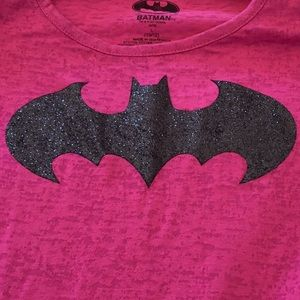 Girls NWT Batman short-sleeve t-shirt. Size L10-12